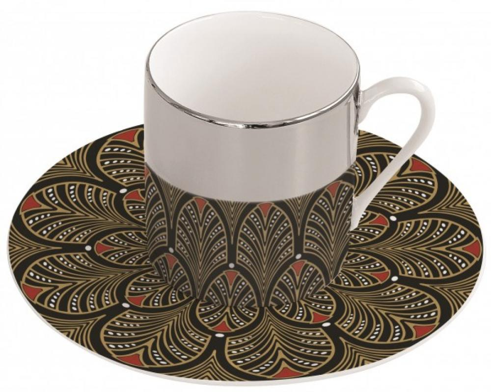 Magic cup art deco kafijas tase ar apakštasi 12CL, Easy Life