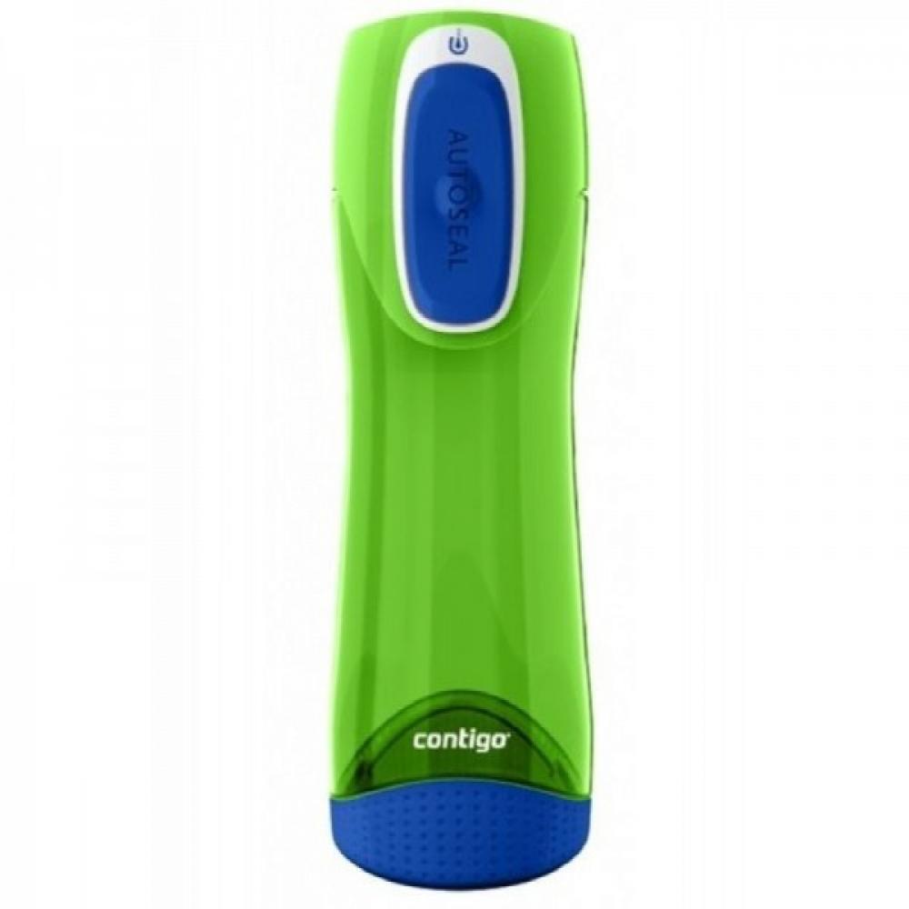 Swish ūdens pudele zaļa/zila 0.5L