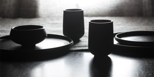 Trauku kolekcija Eclipse — Vaidava Ceramics