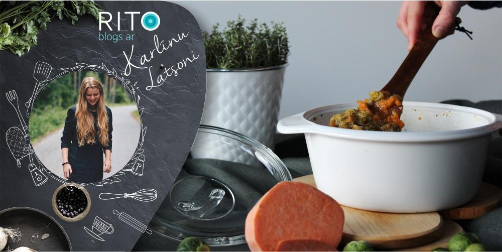 Krāsainais dārzeņu sautējums! Vitro keramikas katliņa tests