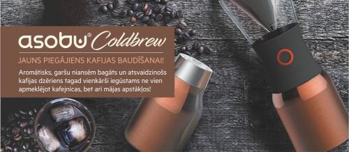 Jauno COLD BREW ierīci aukstās kafijas pagatavošanai testē ROCKET BEAN ROASTERY