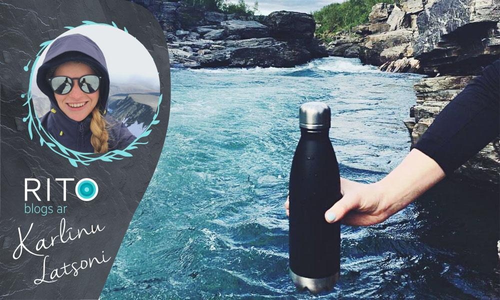 Karlīna Latsone testē CENTRAL PARK pudeli!