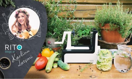 Griez un gatavo dārzeņus kopā ar spirāļu veidotāju no Lurch!