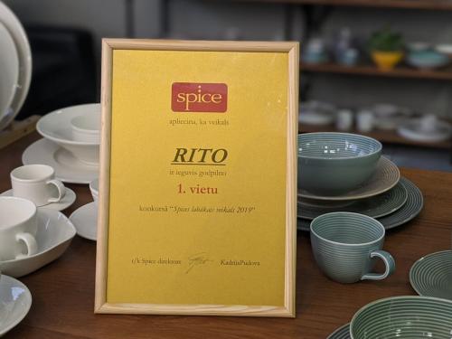 """RITO iegūst 1. vietu konkursā """"Spice Home labākais veikals 2019"""""""