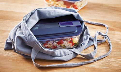 Uzglabā un pārvieto ēdienu ērtāk ar LUMINARC Easy Box!