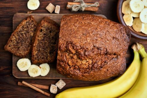 Viegli pagatavojamas receptes ar banāniem