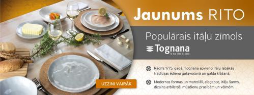 Iepazīsti populāro itāļu zīmolu TOGNANA!